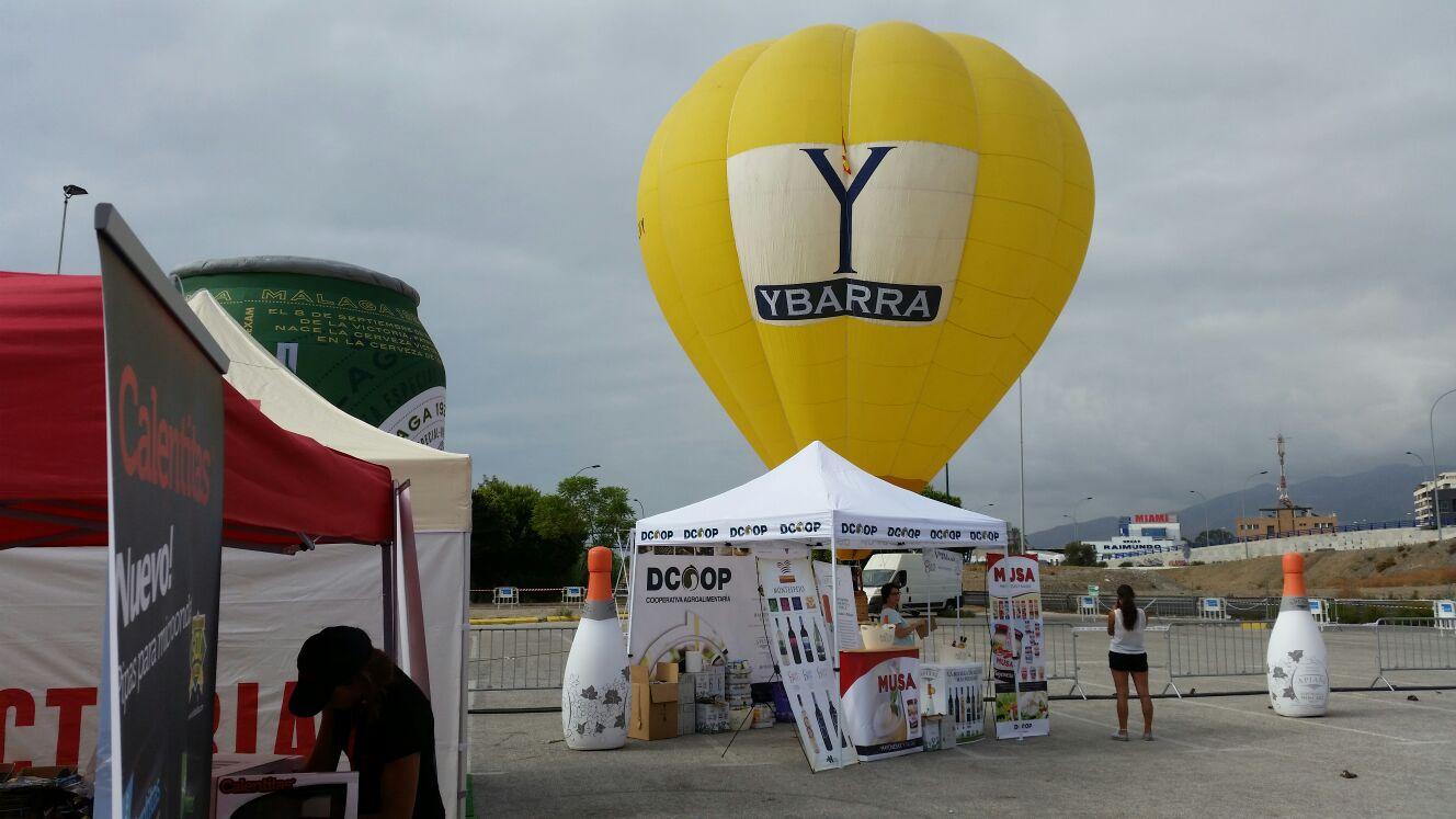 Globotur con Ybarra en el Parque Vuelta Carrefour
