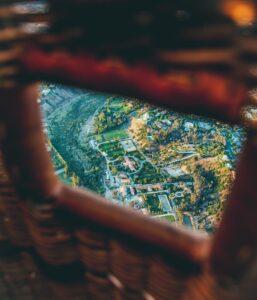 La fotografía desde el globo aerostático