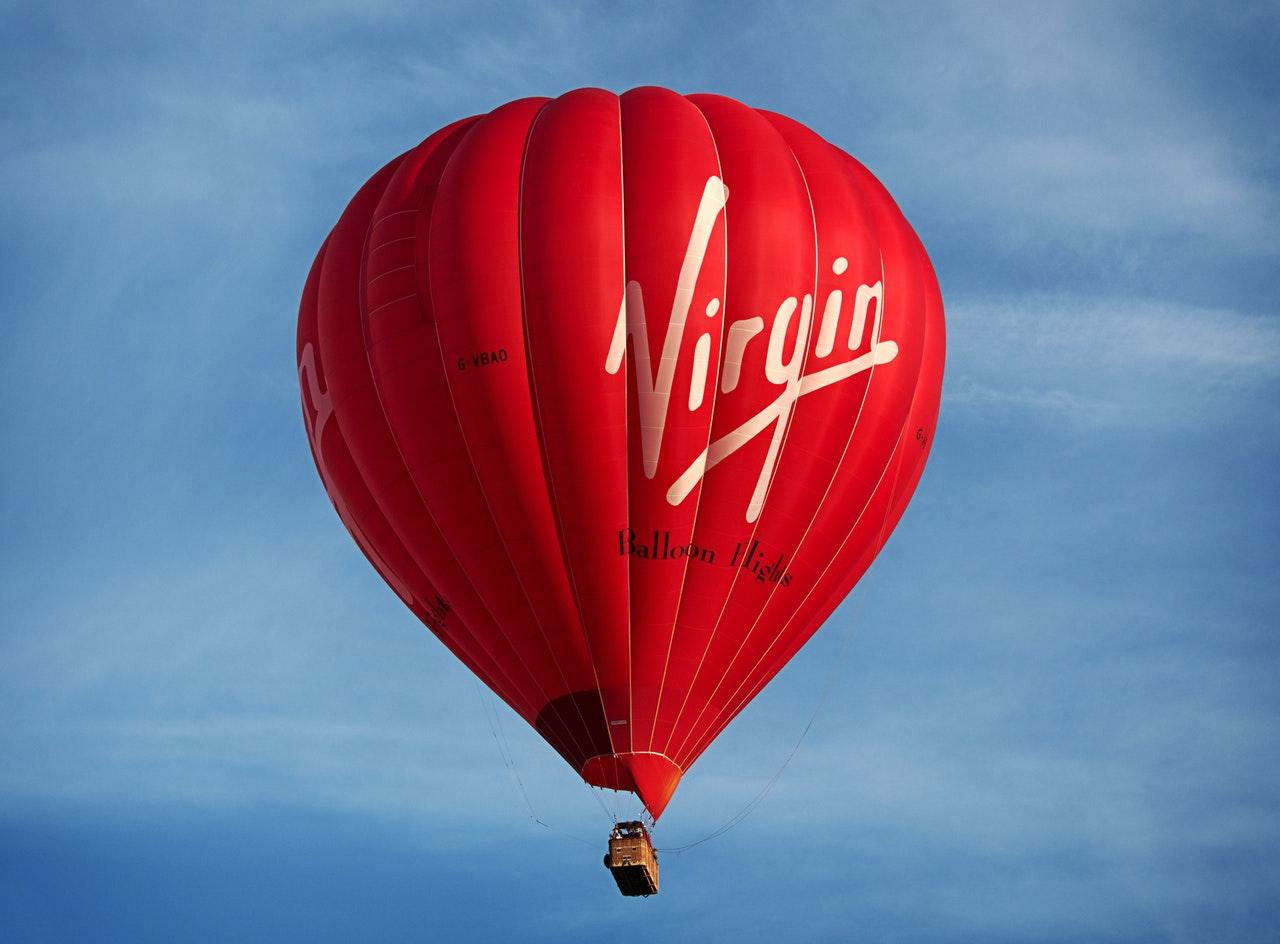 El impacto de una campaña con un globo aerostático.