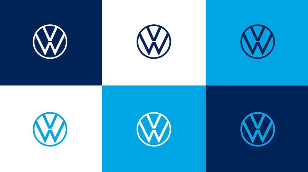 Logotipos nuevos Volkswagen