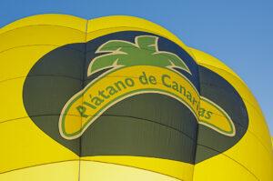 Plátano Canarias globo aerostático